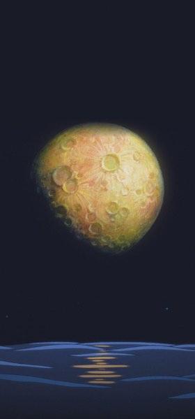 Ponyo Moon Wallpaper