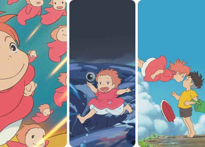 Ponyo Wallpaper Collection