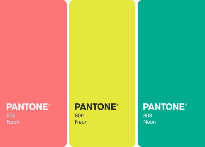 TN PANTONE 809 Neon Plain