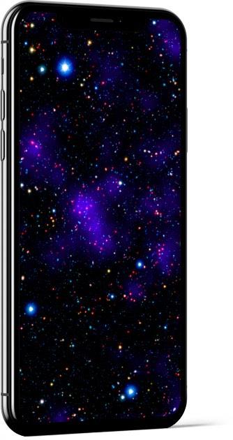 Galaxy Metropolis Wallpaper