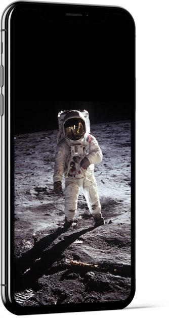 Buzz Aldrin on the Moon Wallpaper