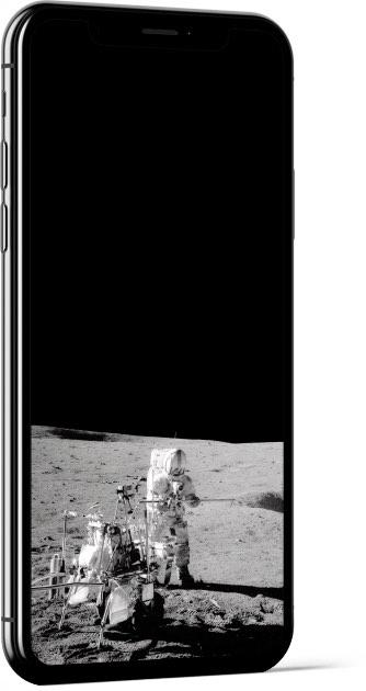Alan Shepard on the Moon Wallpaper
