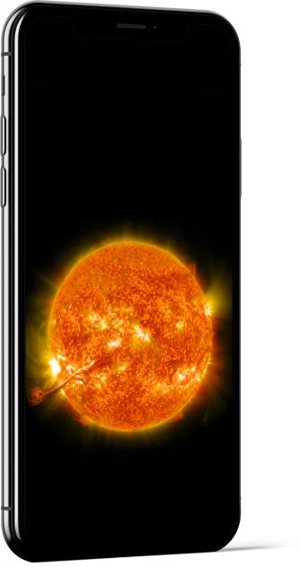 Erupting Sun Wallpaper