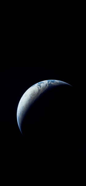 Earth from Apollo 4 Wallpaper