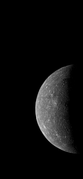 Mercury from Mariner 10 Wallpaper