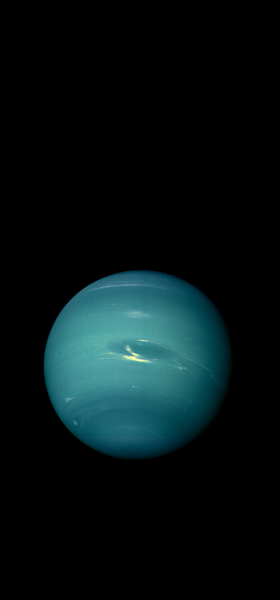 Neptune from Voyager 2 Wallpaper