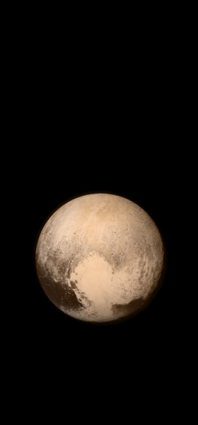 Pluto from New Horizons Wallpaper