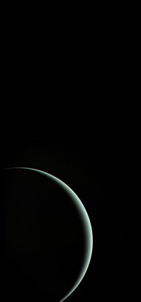 Uranus from Voyager 2 Wallpaper