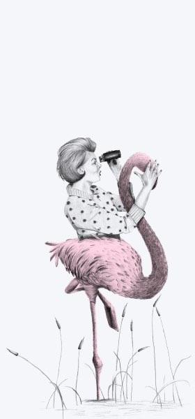 Flamenco Woman by Miss Rayas Wallpaper